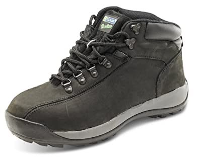 Click Workwear Mens Nubuck Leather Lightweight Chukka Safety Work Boot - Size 6 AT5wiTu