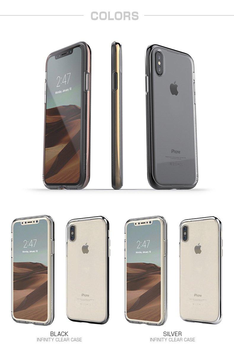 39e24a8849 Amazon | motomo iPhone XS/X ケース INFINITY CLEAR CASE ゴールド(モトモ インフィニティ クリアケース)  アイフォン カバー 5.8インチ【日本正規代理店品】 ...
