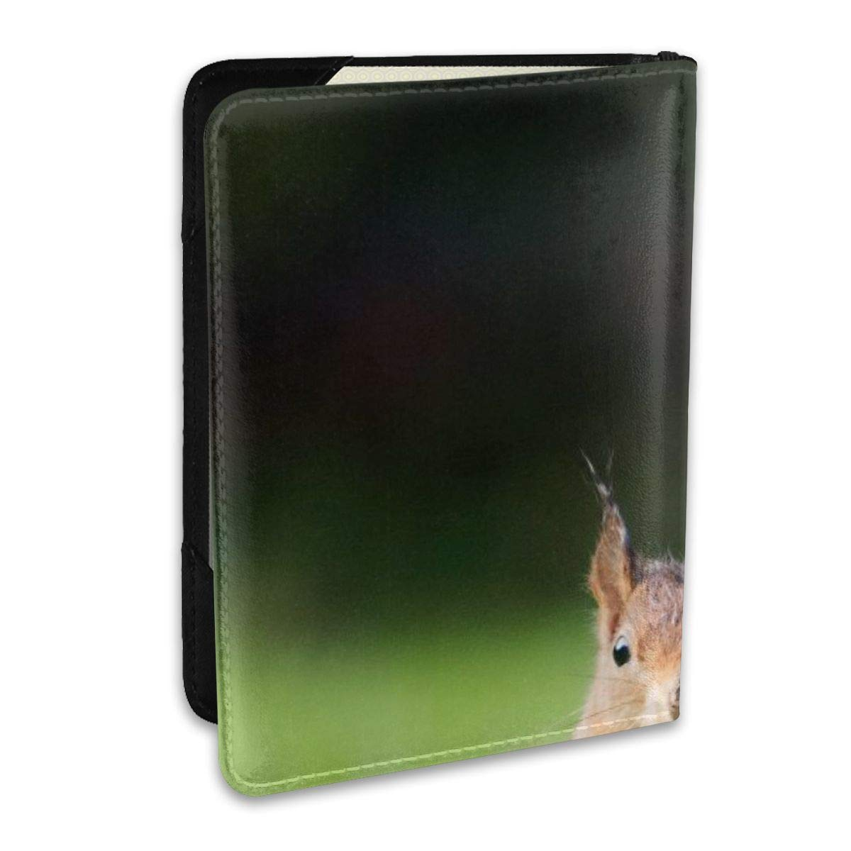 Squirrel Park Field Fashion Leather Passport Holder Cover Case Travel Wallet 6.5 In