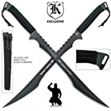 Twin Ninja Swords with Tactical Scabbards