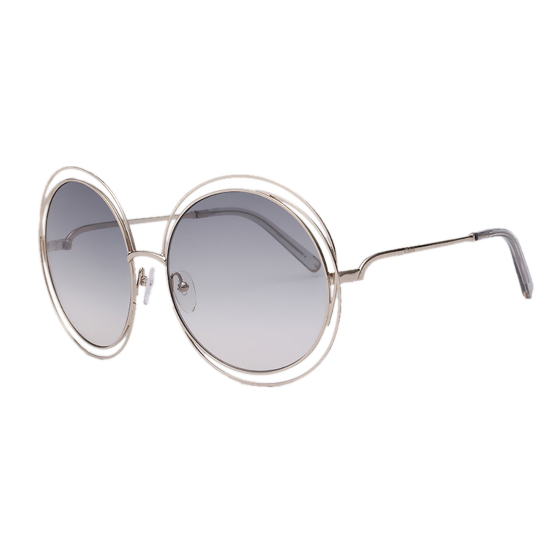 c45fa8b0d4 Chloe CE114S-734 Ladies Carlina Gold Transparent Light Grey CE114S ...