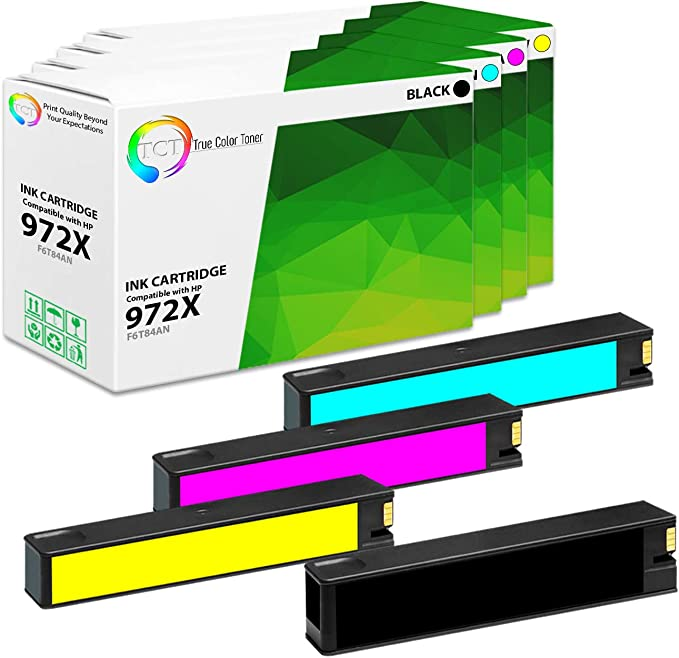 Works with: PageWide Pro 452dn 452dw High Yield 577dw 477dw 972X 552dw Black 577z 477dn QSD Remanufactured Inkjet Replacement for HP F6T84AN