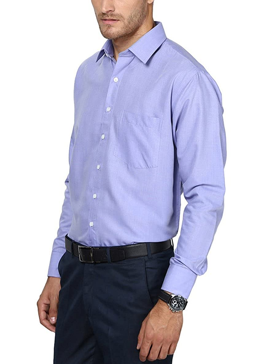 43c164d9 Shaftesbury London Men's Formal Shirt: Amazon.in: Clothing & Accessories