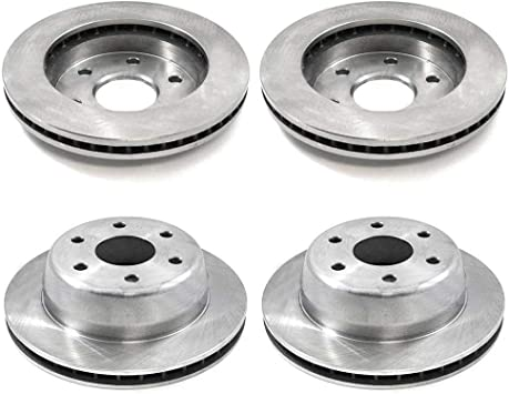 Front Brake Rotors Ceramic Pads 2002 2003 2004 2005 2006 Chevy AVALANCHE 1500
