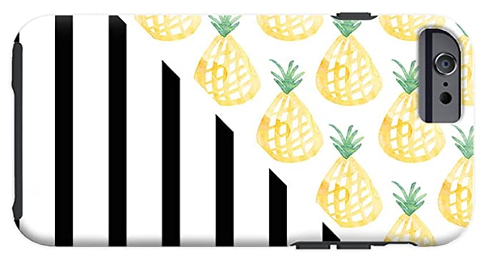 Amazoncom Iphone 6s Case Pineapples And Stripes By
