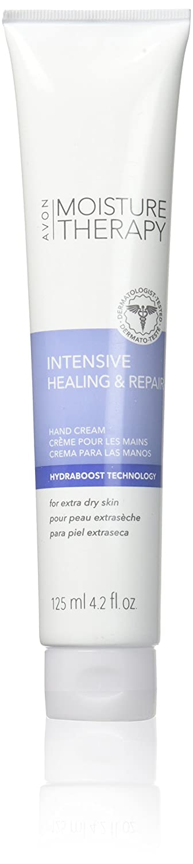 Avon Moisture Therapy Intensive Healing & Repair Hand Cream Extra Dry Skin 4.2 Fl Oz. Fragrance Free - Qty 2