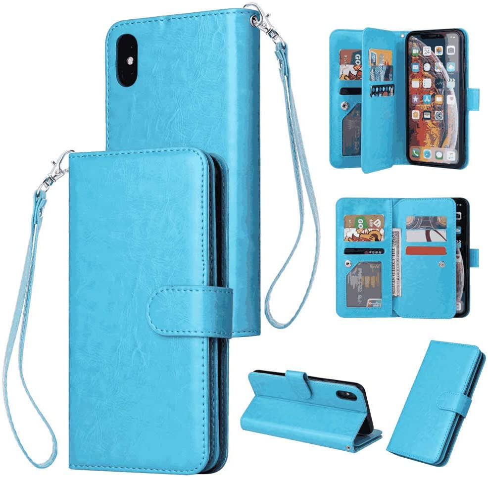 Brown Leather Cover Wallet for Samsung Galaxy S20 Simple Flip Case Fit for Samsung Galaxy S20