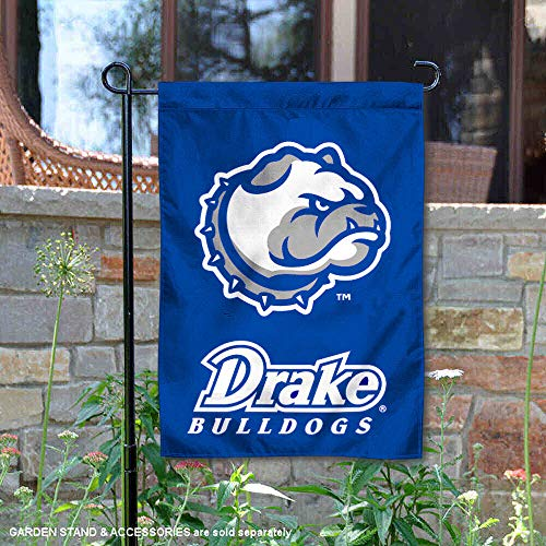 Drake University Garden Flag and Yard Banner