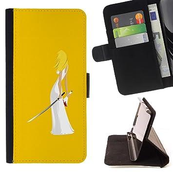 For HTC DESIRE 816 Case , Matar Arte Ninja Espada Mujer ...