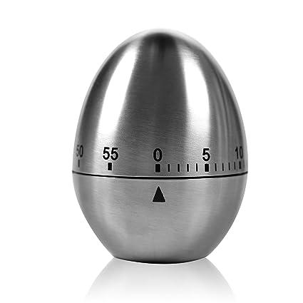 Timer da cucina - KASOS Timer per uova Acciaio inossidabile 60 ...