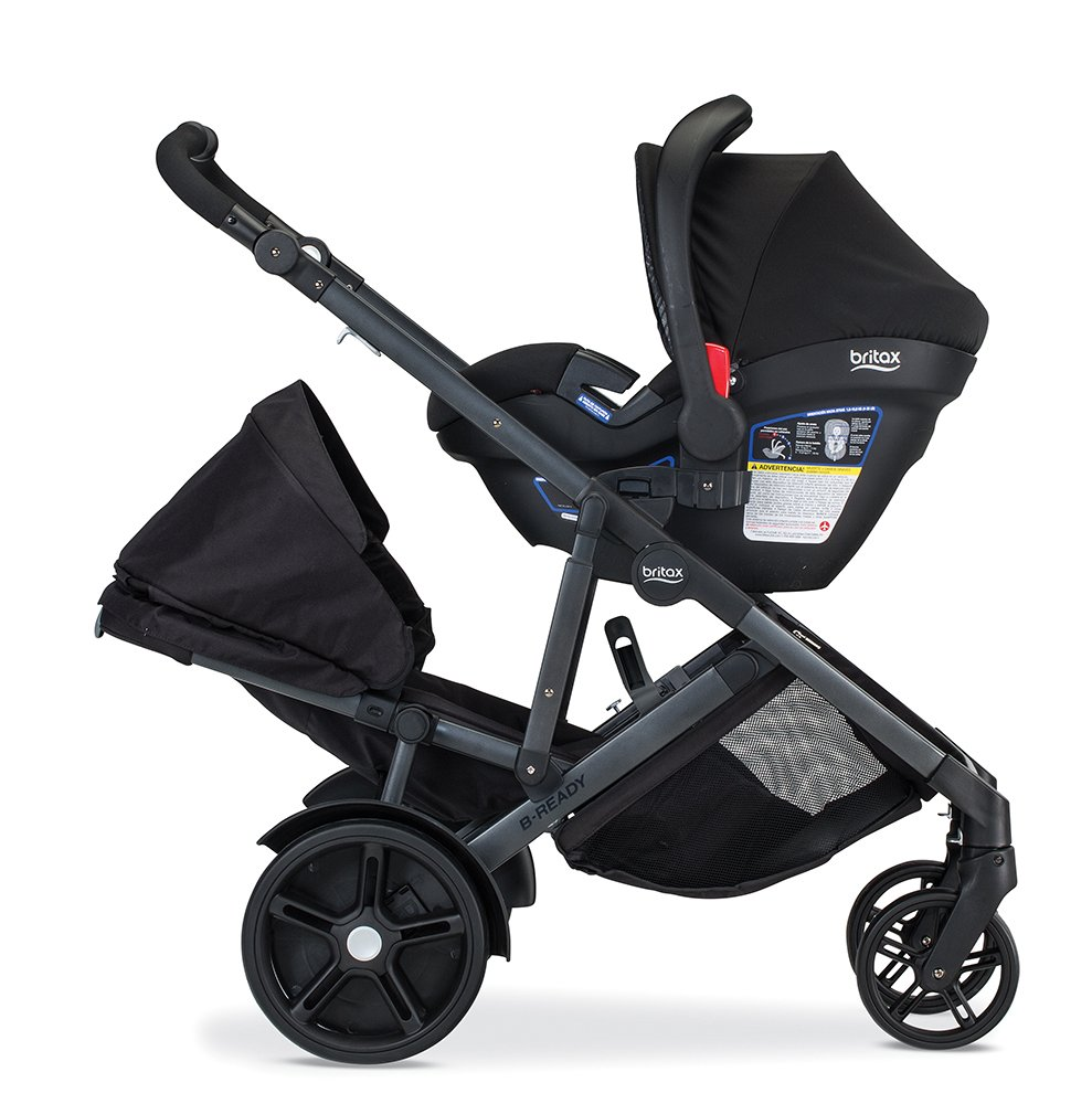 Britax USA B Ready with infant seat and lower seat