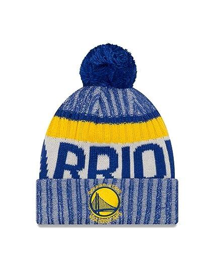 5c300e8a75a Amazon.com   New Era Golden State Warriors On-Field Sport Pom Knit ...