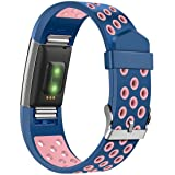 Humenn Silicone Sport Bands Compatible for Fitbit