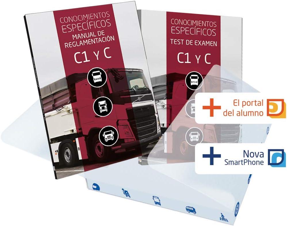 Pack Manual Permiso Camión C1 - C + Test de Examen C1-C. Estudia y Aprueba de la mano de la Editorial Etrasa Número Uno del Sector de las Autoescuelas: Amazon.es: Coche y