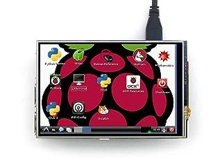 4 pulgadas pantalla táctil RPi LCD (A) 320*440 IPS TFT LCD Diseñado para Raspberry Pi RPi Modelo B/B + /Frambuesa Pi 2 Modelo B