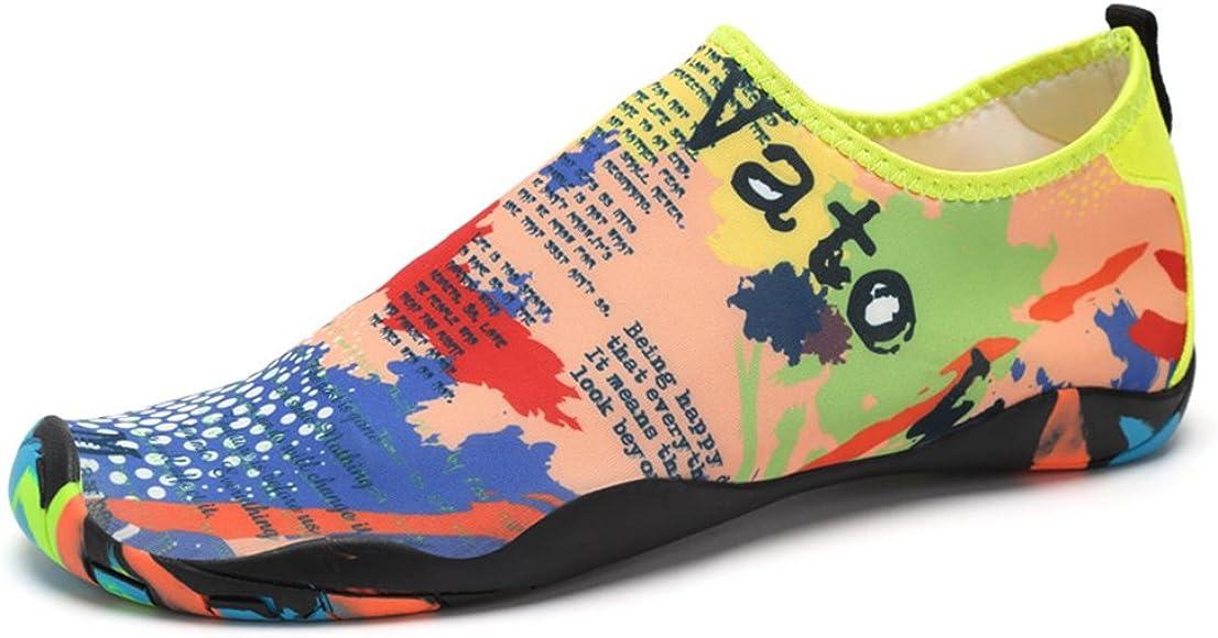 da Surf da Spiaggia da Immersione Pantofole da Casa Scarpe da Scoglio Scarpe da Yoga per Uomini e Donne da Corsa Scarpe barefoot Scarpe da Snorkeling Scarpe da Mare con Suole in Spugna Neopre