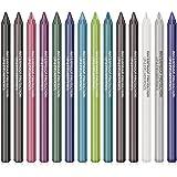 Ownest 14 Colors Eyeliner Pen Set,Pearl Eyeliner Kit Metallic Eyeliner Pencil Glitter Eyeliner for Women Eye Liner Profession