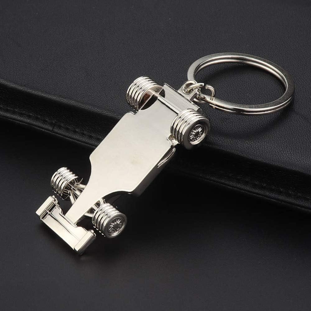 Driver Keyfob gift for father husband boyfriends 3D F1 Race Car KeyChain