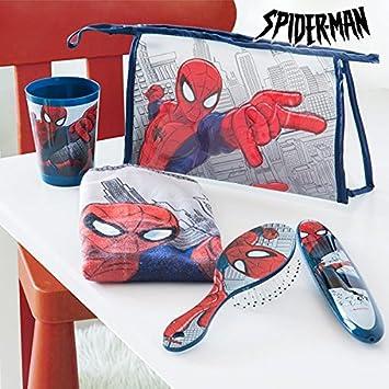 Neceser Infantil para Comedor Spiderman (5 piezas): Amazon.es: Juguetes y juegos