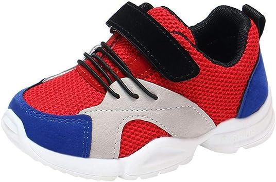 Sneakers Enfant Baskets Chaussure, Xinantime Enfant en Bas âge Bébé Garçons Filles Enfants Sneakers Casual Mesh Chaussures De Course Doux Chaussures