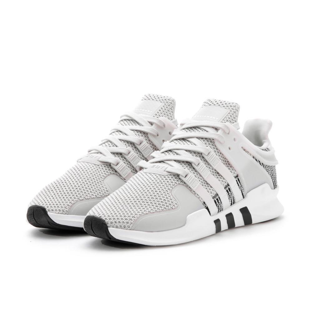 blanc   blanc-gris 43.5 EU Adidas EquipHommest Support Adv, paniers Basses Femme