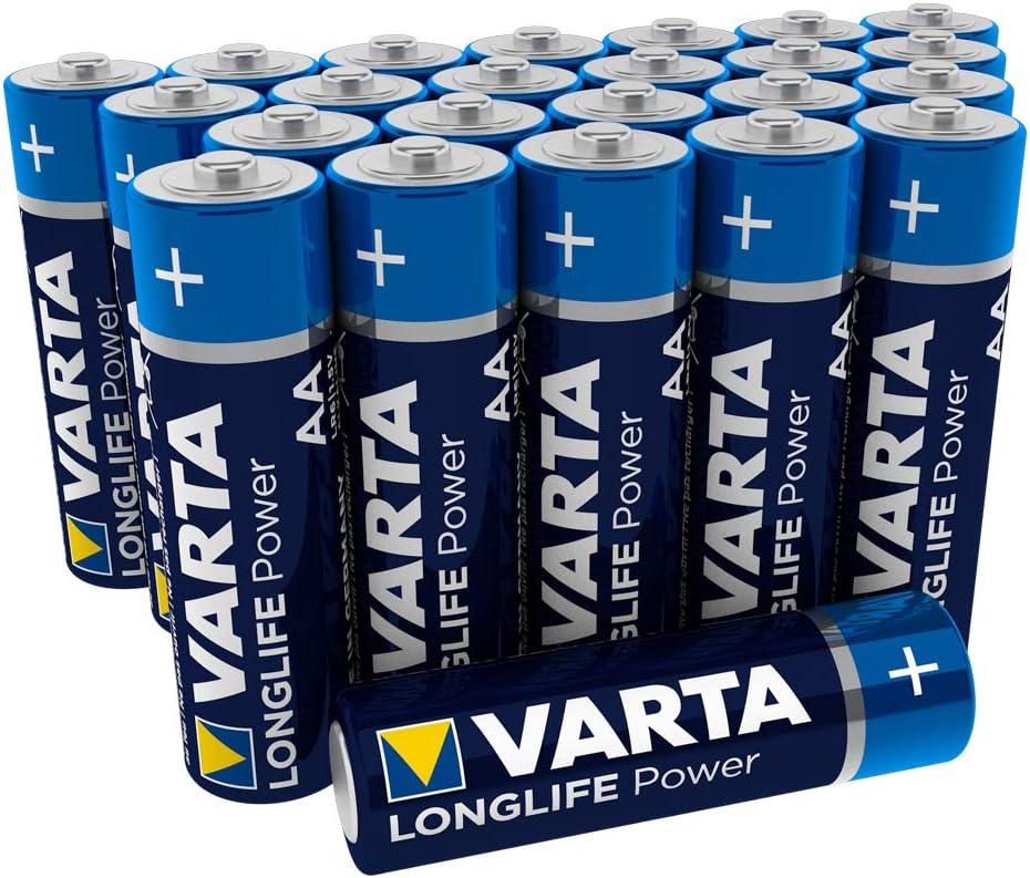 Varta Longlife Power Aa Mignon Lr6 Batterie 24er Pack Alkaline