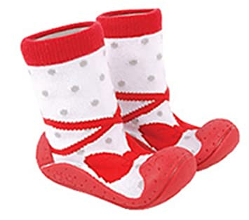 9b3562078e5eb ComoBaby (コモベビー) ファーストシューズ 初めての 赤ちゃん靴 ソックスシューズ ベビーシューズ たっち あん