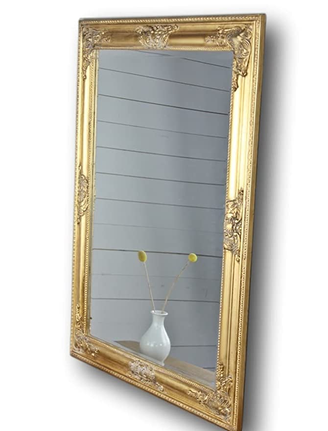 elbmöbel.de - Espejo de Pared, Color: Dorado: Amazon.es: Hogar