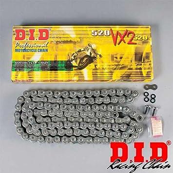 116 Glieder offen mit Nietschloss DID Kette 530 VX X-Ring