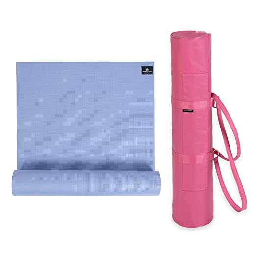 Yoga Studio Basic Slimline Bag Kit - 6mm Mat: Amazon.es: Hogar