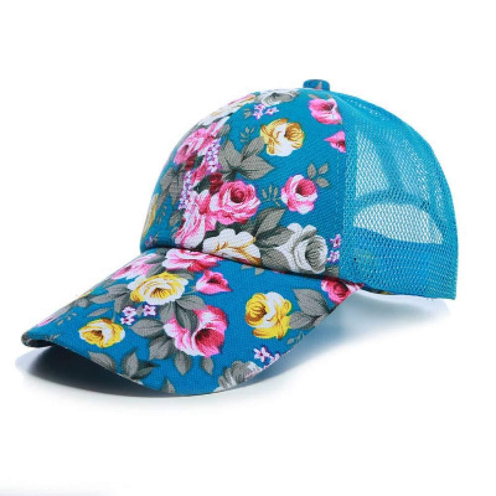 GSFD&DFGW Gorra de béisbol Floral para Mujer Sombreros de Sol ...