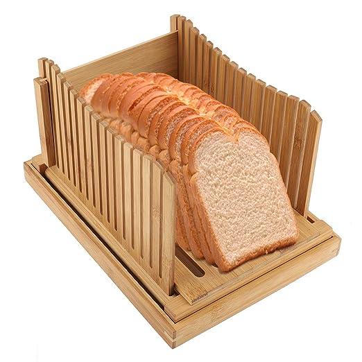 Guía de rebanadora de pan duradera ecológica, no tóxica y de ...