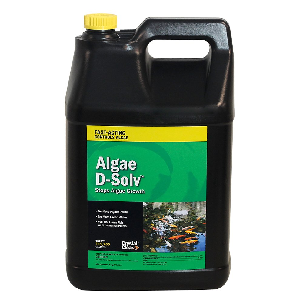 CrystalClear Algae D-Solv 2.5 Gal