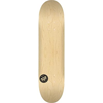 Mini-Logo Deck 191/K16 Mini-7.5 Chevron Stamp Natural - Assembled AS Complete Skateboard : Sports & Outdoors