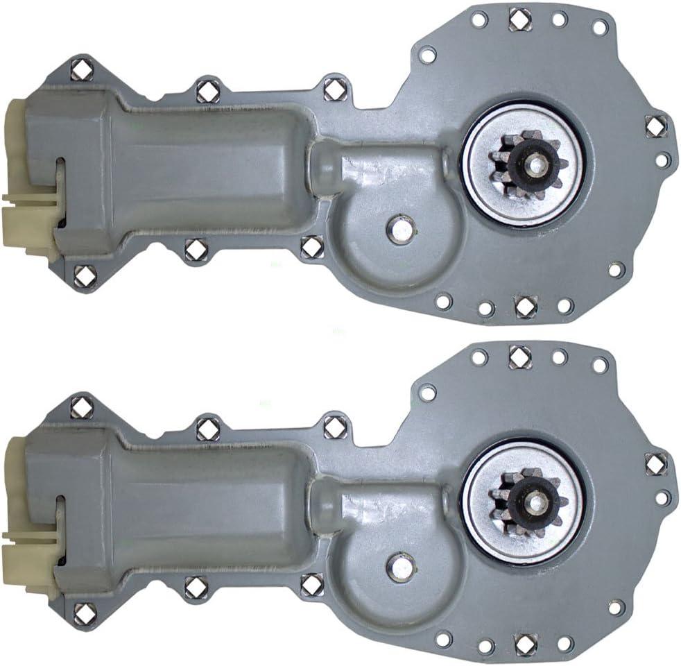 Pair of Power Window Lift Regulator Motors Replacement for Chevrolet Astro Camaro Pontiac Firebird GMC Safari 88960088