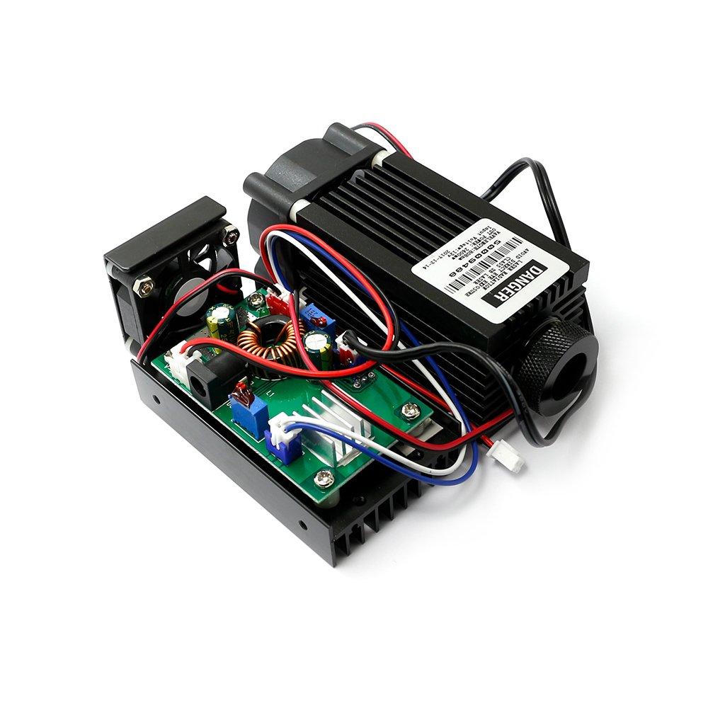 12v Adjusted Ir Laser Diode Module 808nm 2400mw 2.4w Dot Infrared Lazer with TTL