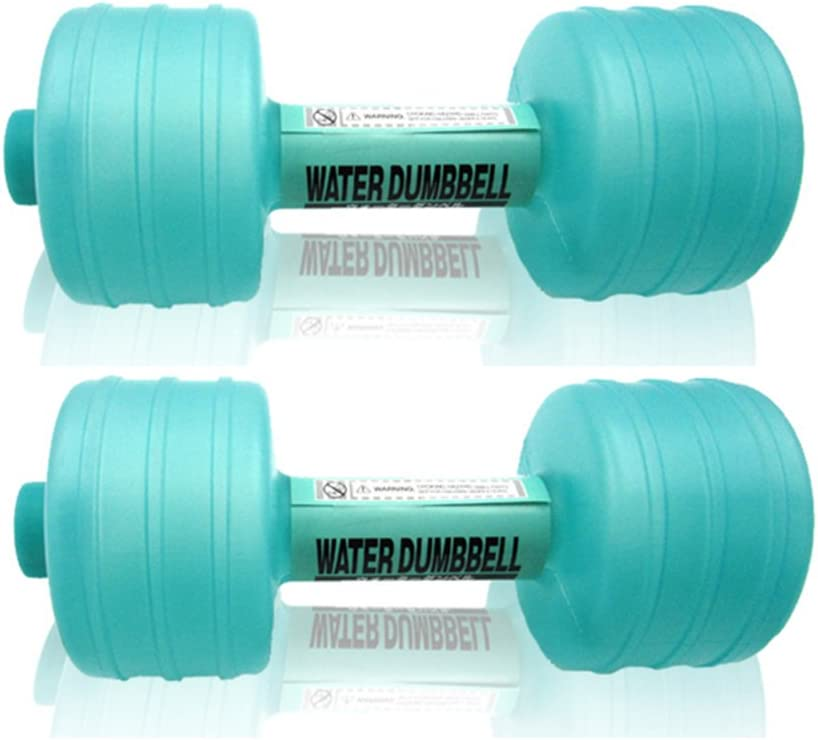 Liamostee Water Filled Kettlebells Adjustable Weight Dumbbells Fitness Portable Double Ear Handle Yoga