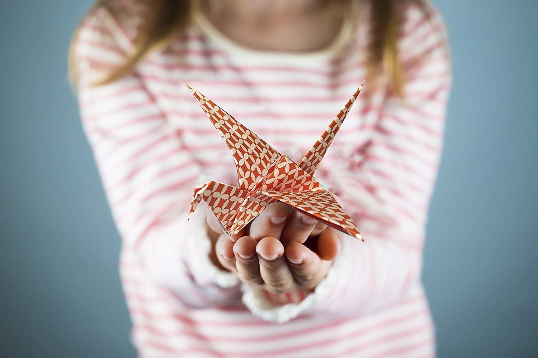 Animali Origami per Bambini Draghi MozArt Supplies Carta Origami Adventure Pack Crea Fiori 120 Fogli Carta Giapponese con Stampe Floreali Gru Gufi Di Animali Azteche e Geometriche