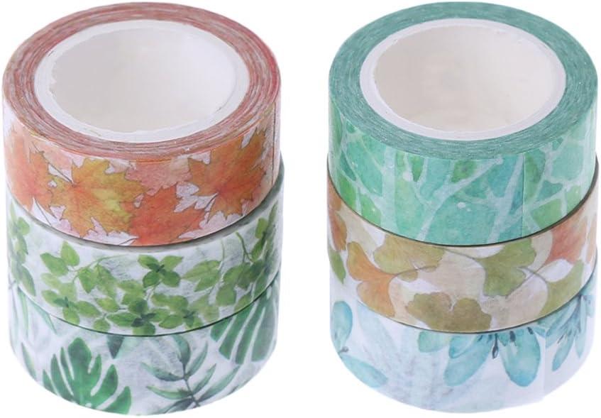 cinta adhesiva decorativa para decoraci/ón de plantas Kawaii Bhty235