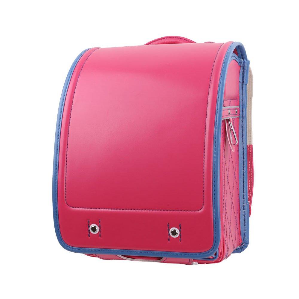 LOONTS ランドセル 通学鞄 schoolbag A4クリアファイル 男の子 女の子 小学生 防水 6年間保証 B07BMRDKBD バラ バラ
