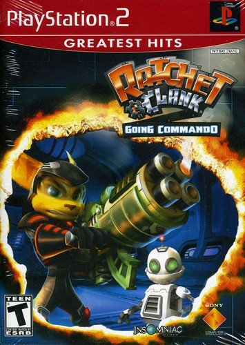 Ratchet & Clank Going Commando (Ratchet And Clank Up Your Arsenal Ps2)