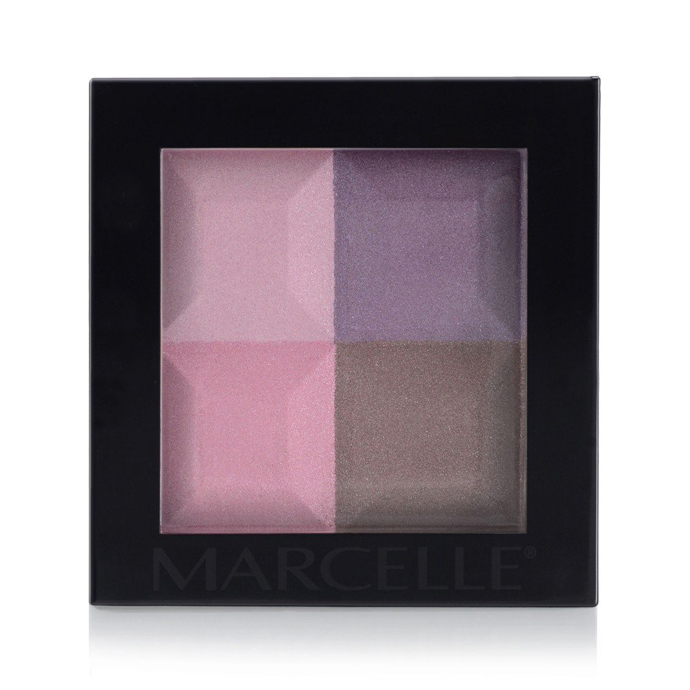 Marcelle Eye Shadow Quad - Ultraviolets Hypoallergenic Fragrance-Free 37.8 Gram Groupe Marcelle Inc. 167926