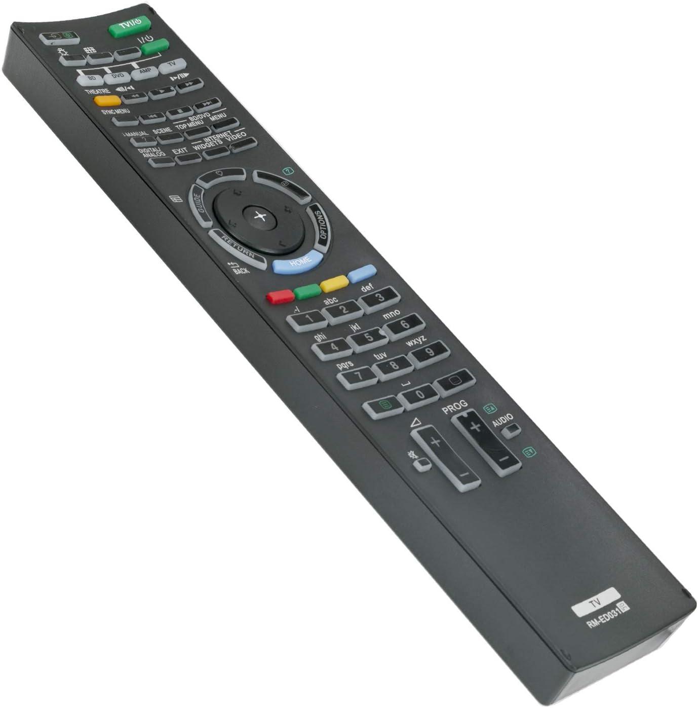 ALLIMITY RM-ED011 Sustituido Control Remoto fit para Sony Bravia LCD LED TV