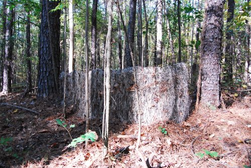 Ghillie Turkey Blind Cover (Mossy)