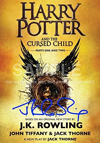 """Price comparison product image Harry Potter and the Cursed Child Glossy Photo Print - J.K. Rowling (11.7"""" x 8.3"""")"""