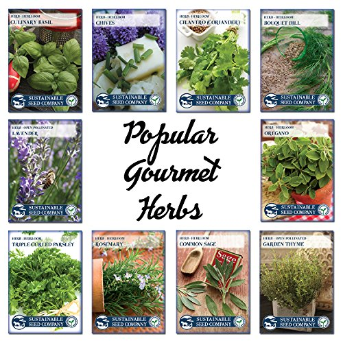 Review Culinary Herb Seed Collection