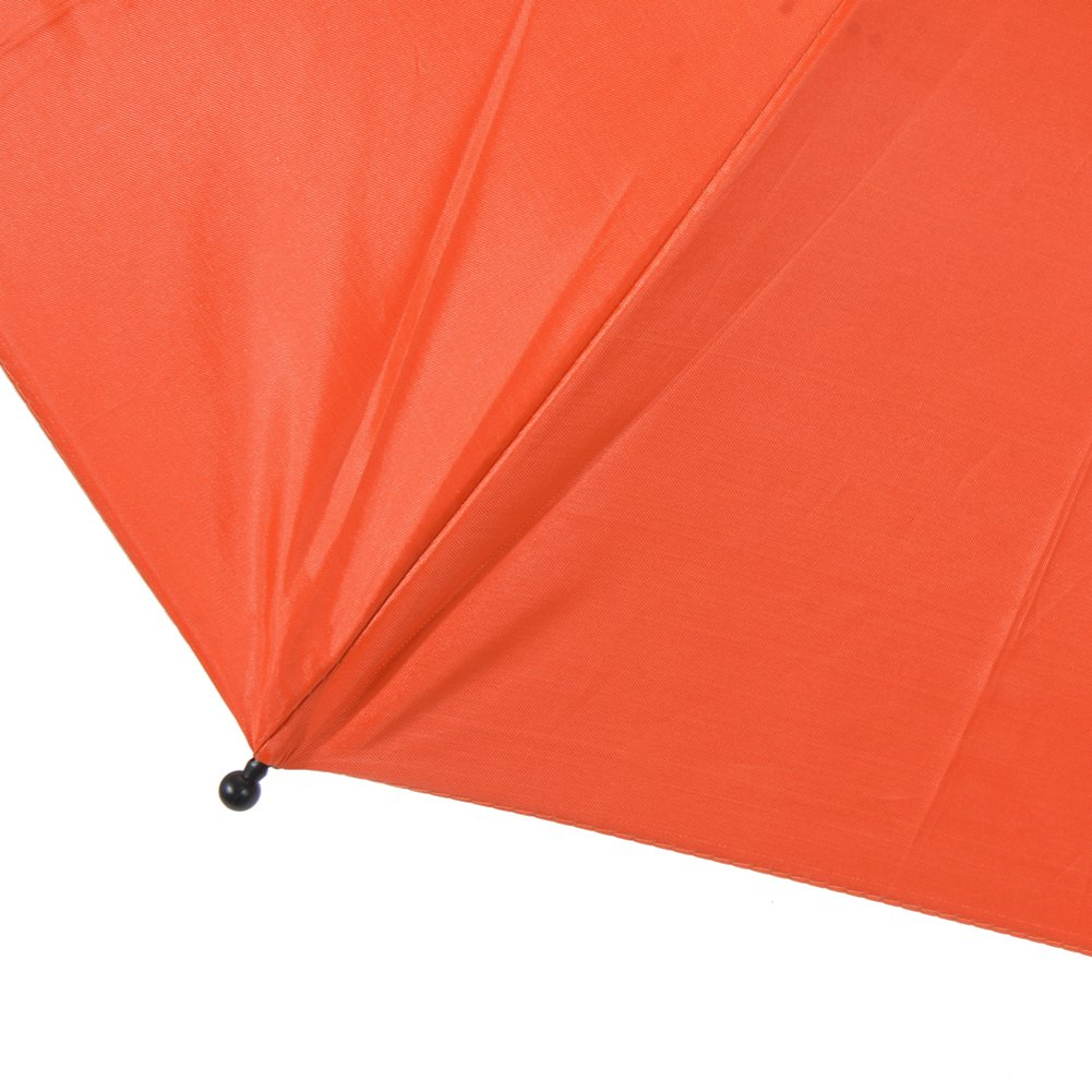 Chinatera Baby Pram Pushchair Buggy Shade Stroller Parasol Sunshade Stroller Umbrella with Universal Clamp Orange