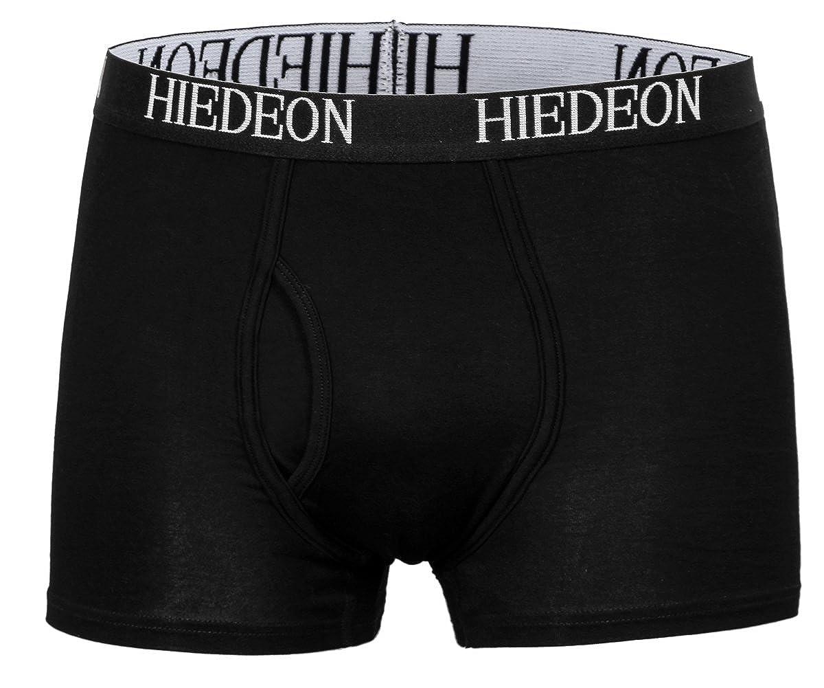 MIEDEON Men 5 Pack Breathable Bamboo Boxer Briefs Underwear
