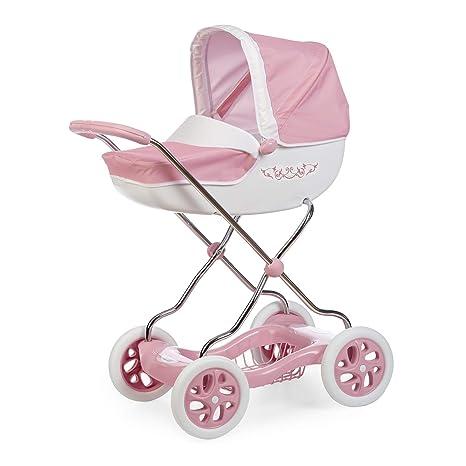 Carrito Shara Inglesina rosa para muñecos (Smoby 250482)