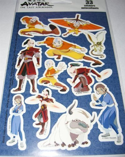 Avatar The Last Airbender Stickers (3 sheets)]()